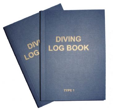 PDC 10 BOOK LOGBOOK DIVING <BR> TYPE 1